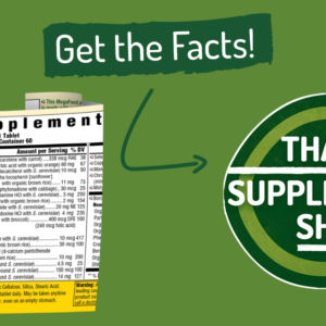 Ep: 7 Your Supplement Labels are Changing! Get the Facts